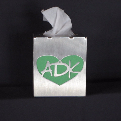 Adirondack Steel Tissue Box Cover