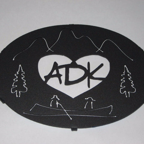 Adirondack Painted Trivet from Love is in the Adirondacks
