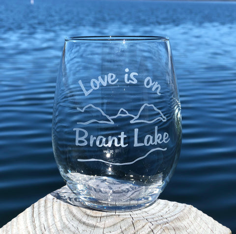 Love is in the Adirondacks 2-piece Gift Pack