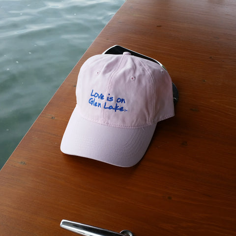 Glen Lake Ladies Pink Hat