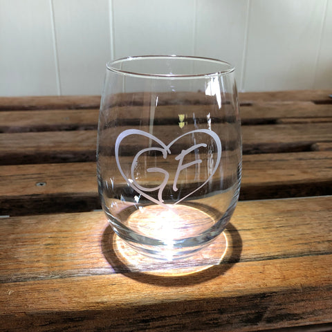 Glens Falls Stemless Wine Glass