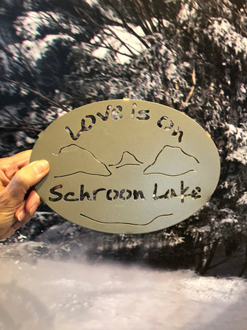 Schroon Lake Painted Trivet
