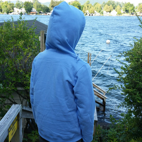 Lake George Ladies Full Zip Hoodie