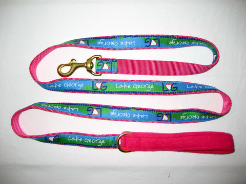 Lake George Ribbon Dog Comfort Leash