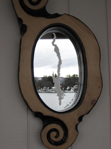 Lake George Mirrors, Custom and Handcrafted Frames, NEW