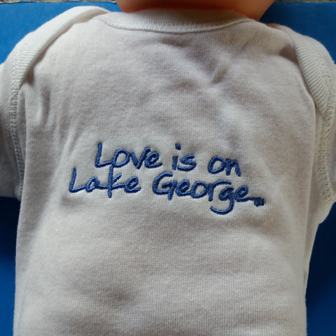 Lake George Infant Onesie