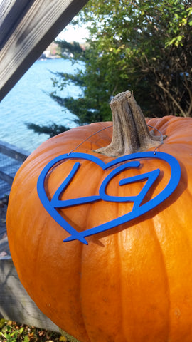 Lake George Heart Ornament from Love is on Lake George