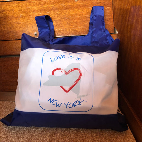 Love is in New York Reusable Bag