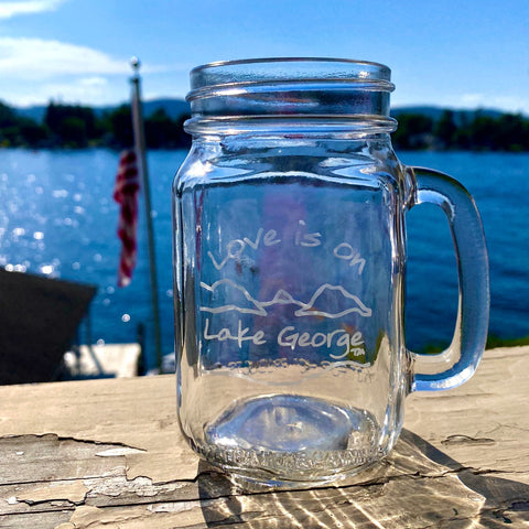 Lake George Silhouette Bottle Opener