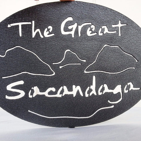 The Great Sacandaga Painted Trivet