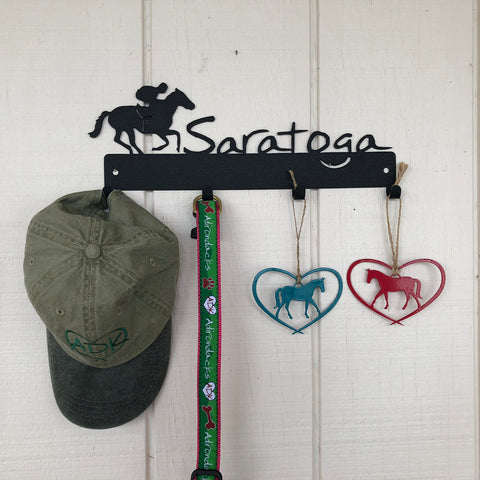 Saratoga Four Hook Wall Mount