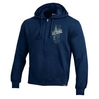 Lake George Men's Full Zip Hoodie