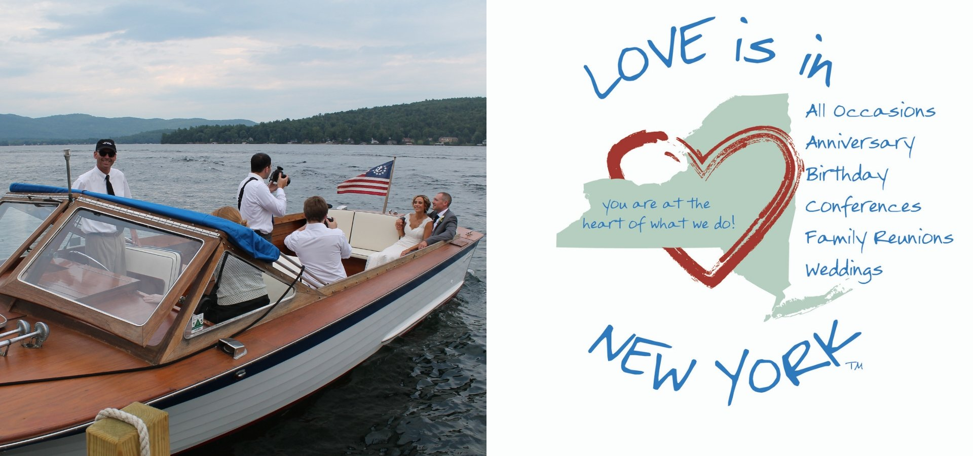 Love is in New York, in the Adirondacks and on Lake George