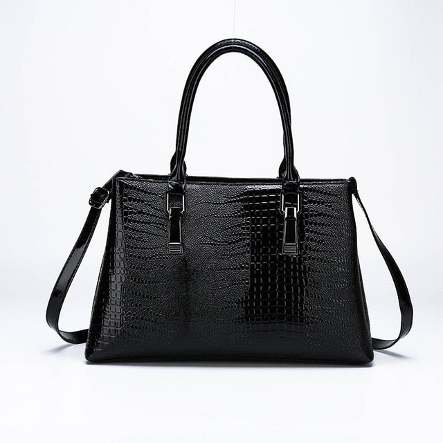 Gracelynn Alligator Casual Tote