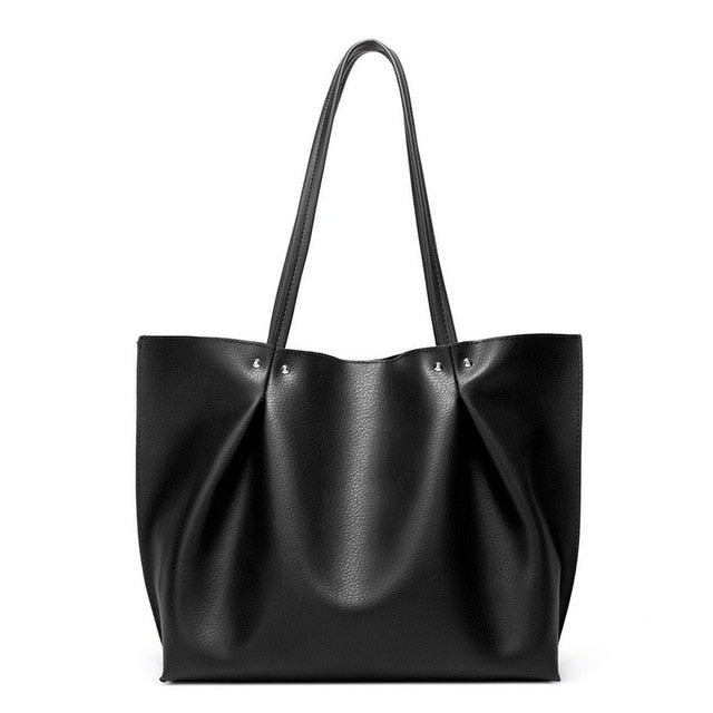 Ava Solid Casual Tote