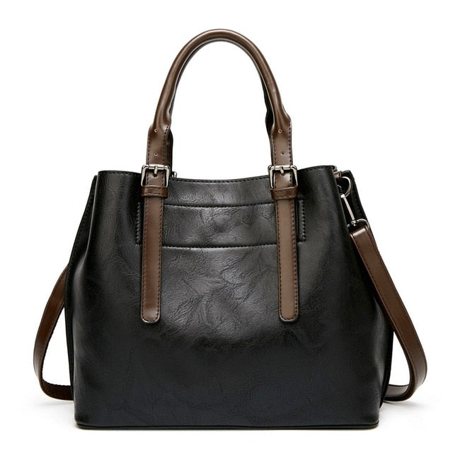 Veda Solid Casual Tote