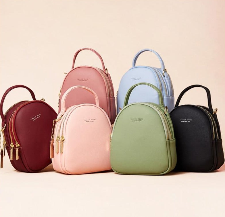 Mara Solid Backpacks