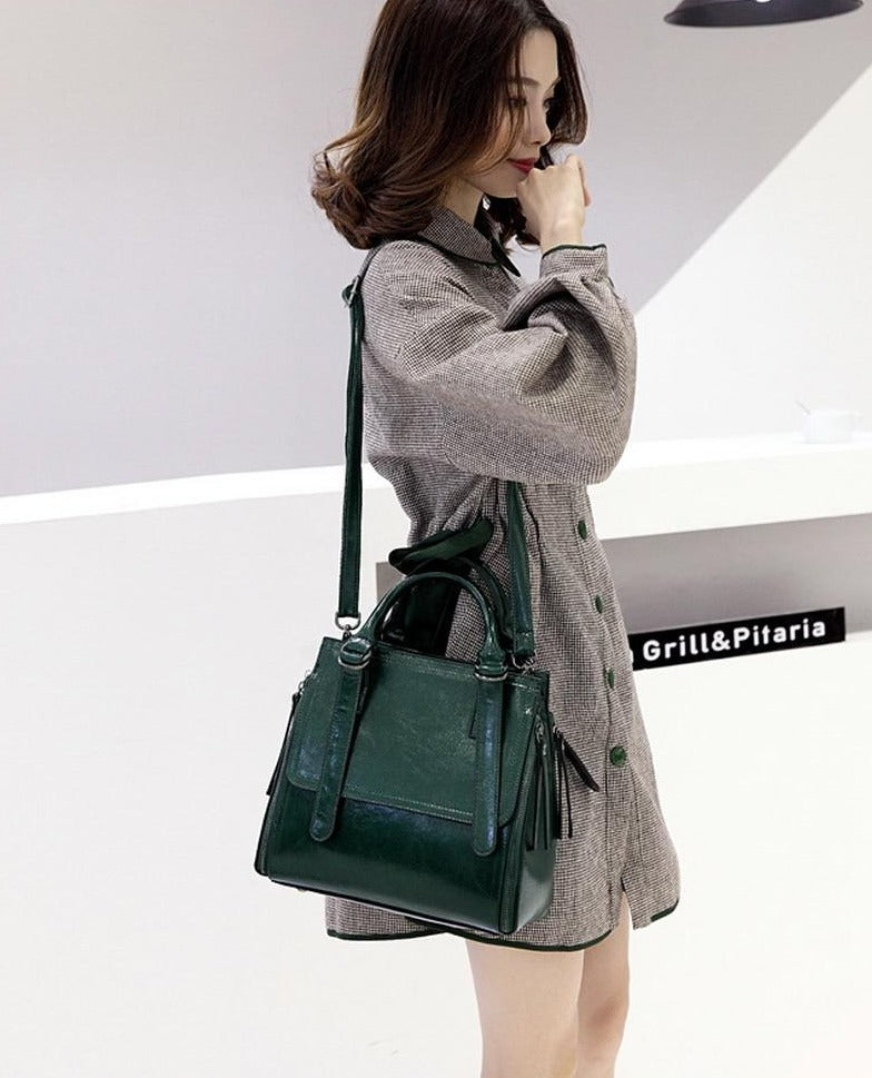 Clare Solid Casual Tote