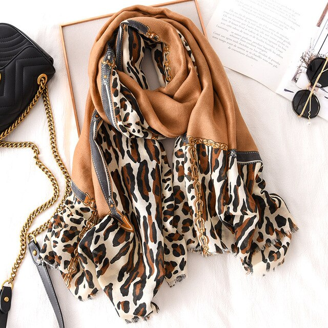 Renee Animal Scarf