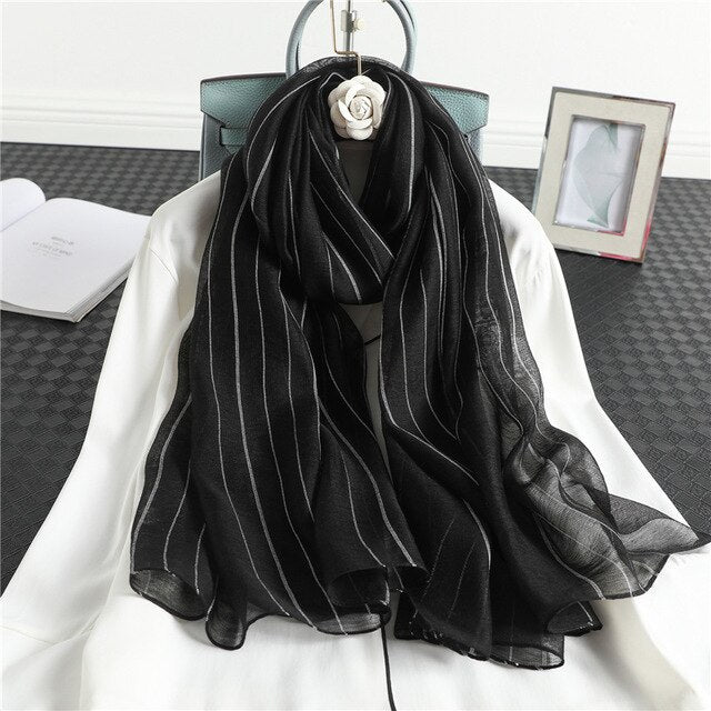 Lennox Striped Scarf