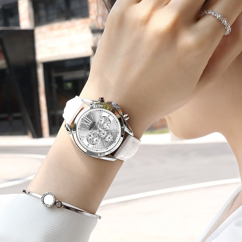Sarah Watch Leather 37mm