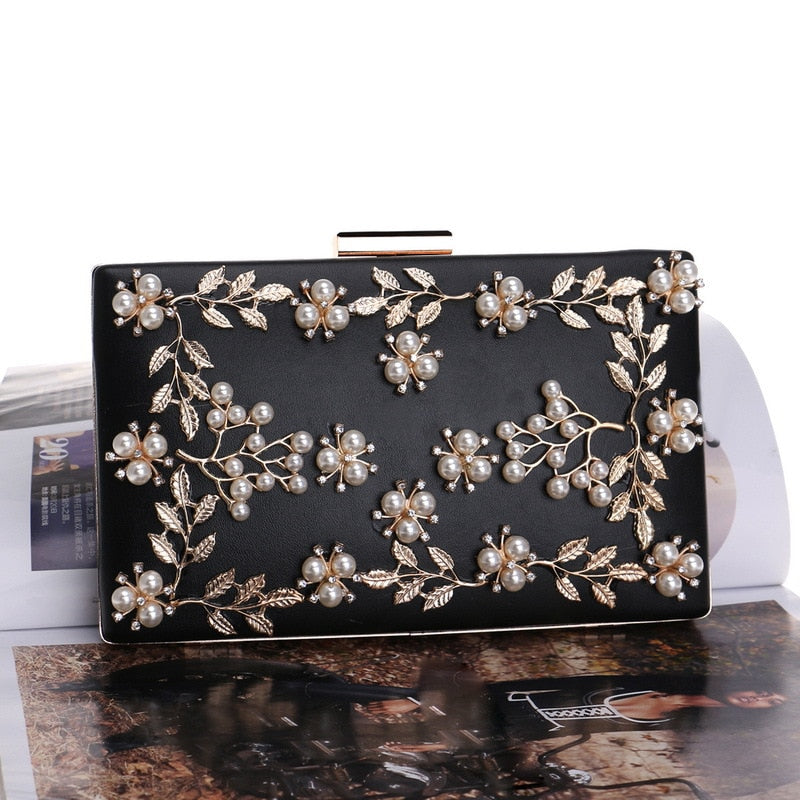 Waverly Floral Clutch