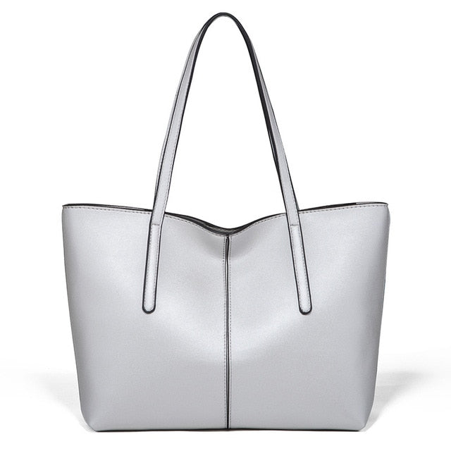 Anne Solid Casual Tote