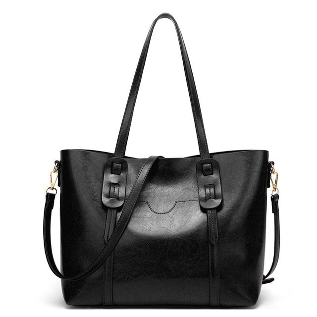 Scarlett Solid Casual Tote