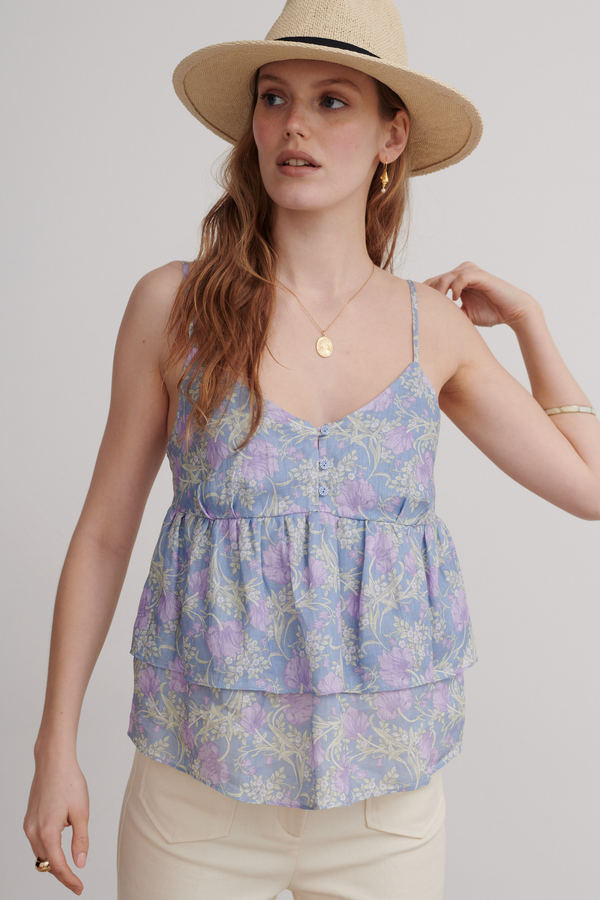 Charmaine Top, Bluebell