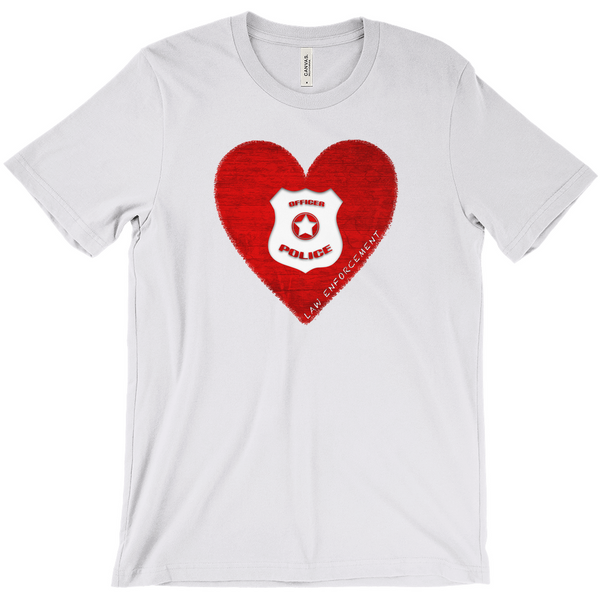 I Heart Law Enforcement Tee - Mission Market