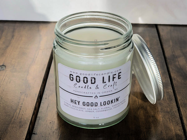 Hey Good Lookin' Scented Candle
