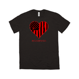 Flag in Heart Shirt - Mission Market