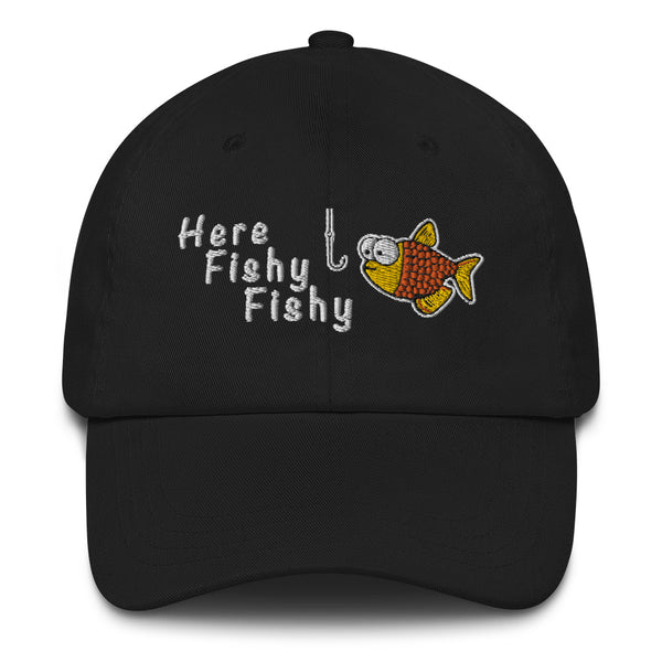 Here Fishy Fishy | Adjustable Strap Hat - Mission Market