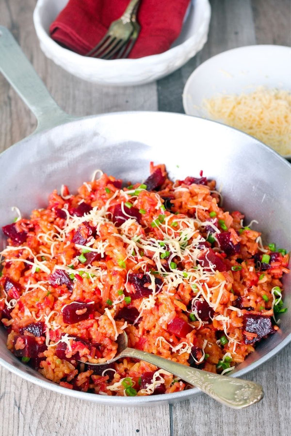 Recipe: Roasted Carrot & Beetroot Risotto