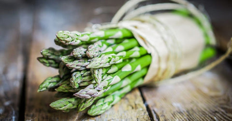 Asparagus tips, perfect with a butter sauce