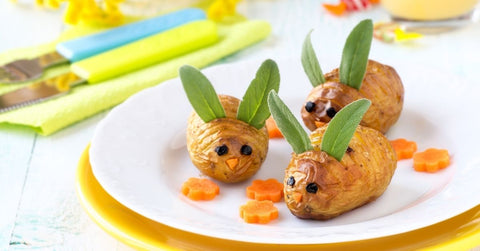 Baked potato mice