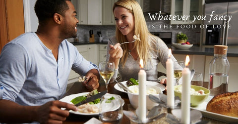 Organise a romantic evening meal at home