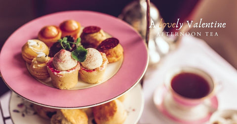 Think outside the box with a Valentine's Afternoon Tea with Sweet Things Savoury