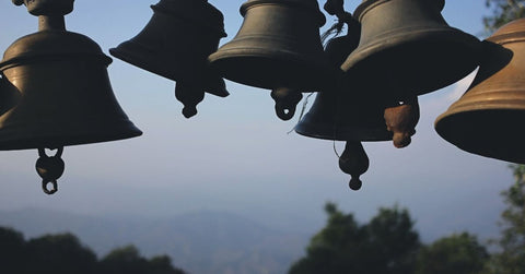 The pancake bell ringing people to confession