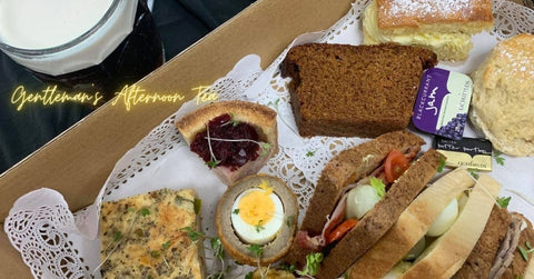 Gentleman's Afternoon Tea with Birdhouse Brewery Ale