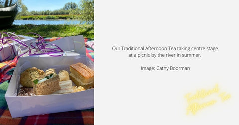 Traditional Afternoon Tea by the river