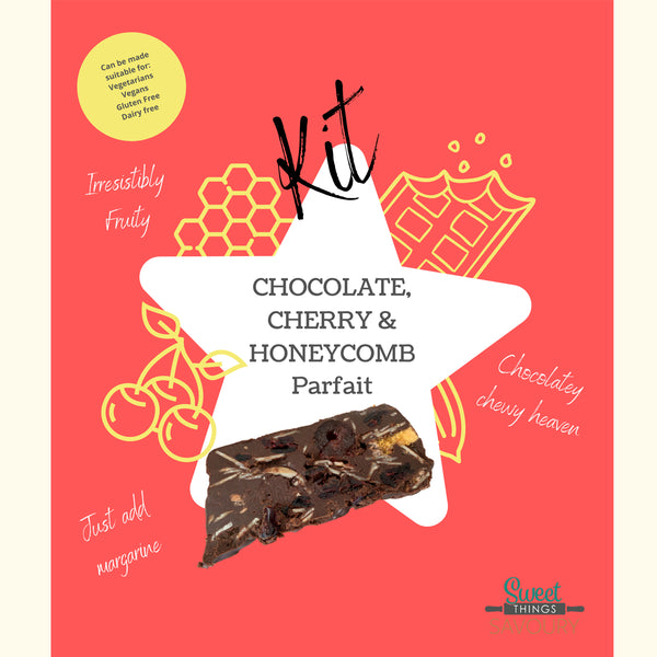Chocolate, Cherry & Honeycomb Parfait Baking Kit