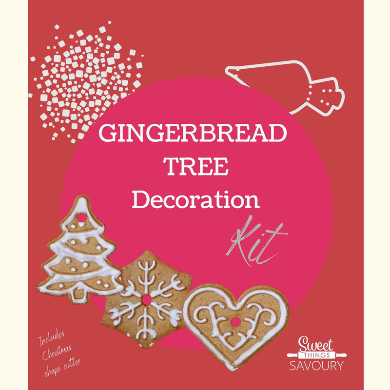 Gingerbread Tree Decoration Baking Kit