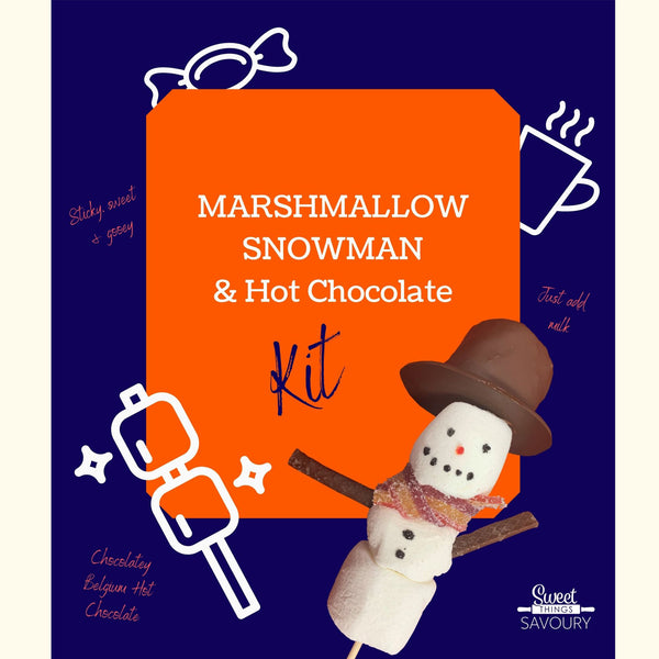 Marshmallow Snowman & Hot Chocolate Kit