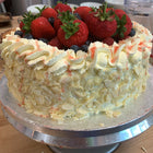 Summer Strawberry Gateau