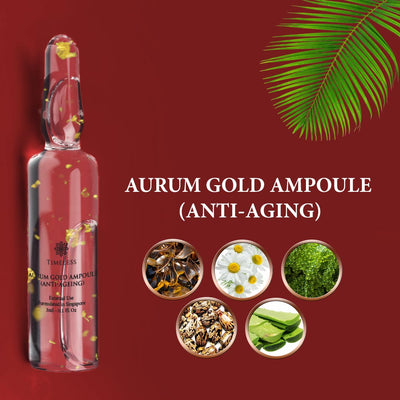 Aurum Gold Ampoule (Anti-Aging) 5 x 3ml