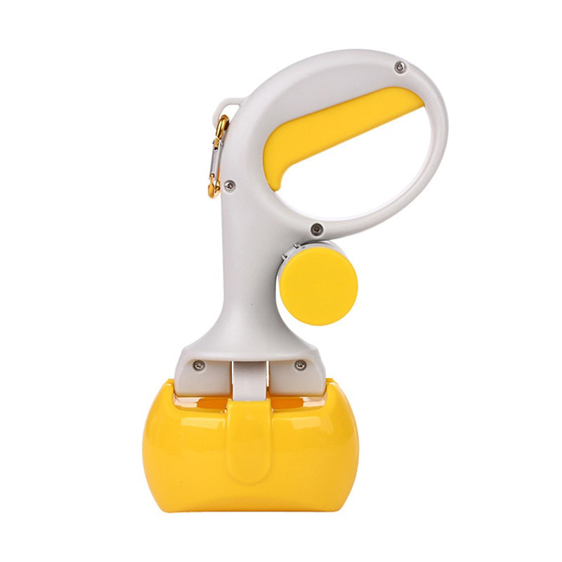 Portable Pooper Scooper with Dog Waste Dispenser