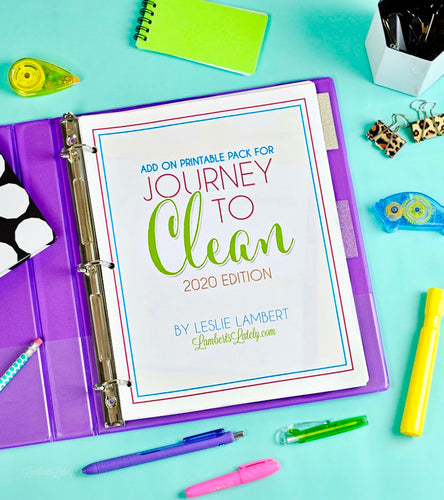 Journey to Clean 2020 Add-On Pages