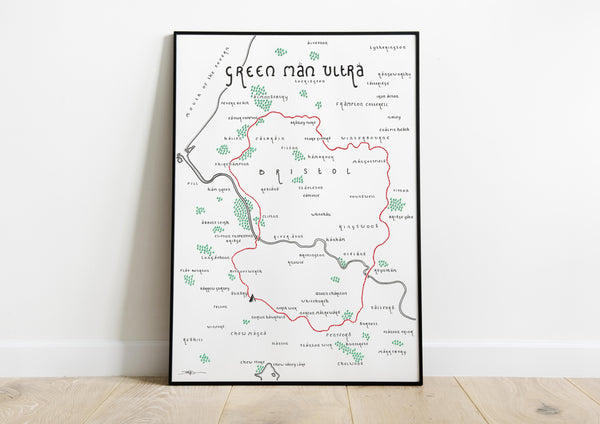 The Green Man (Ultramarathon Route)