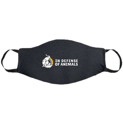 In Defense of Animals Logo Mask